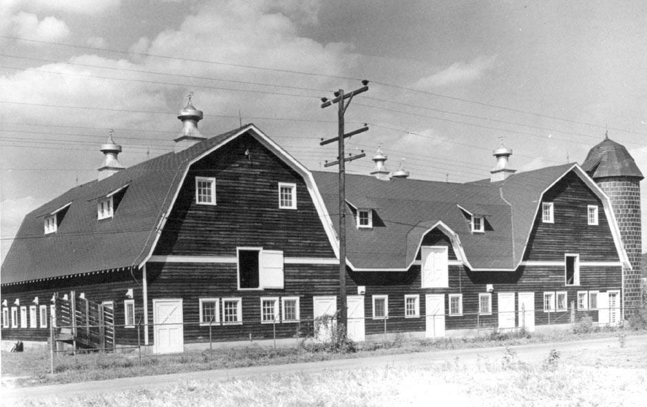 The WVSDB Barn in it's prime
