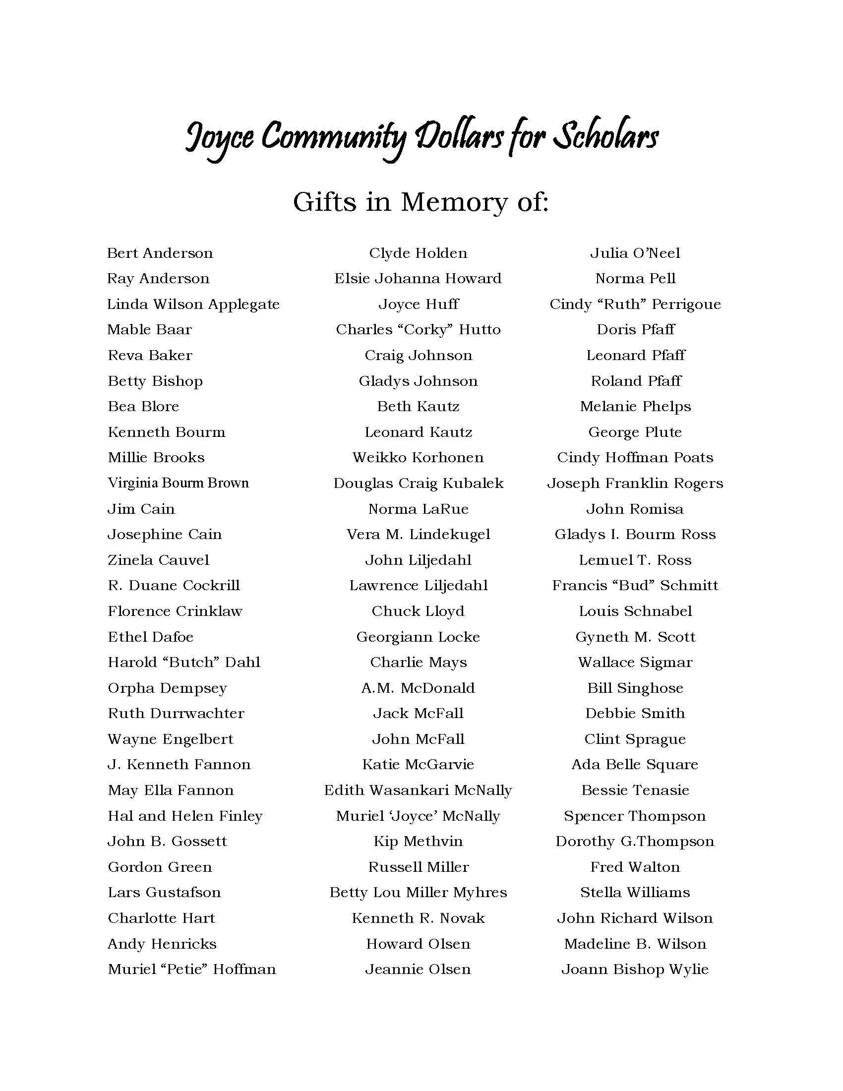 Class of 2020 Commencement Page 3