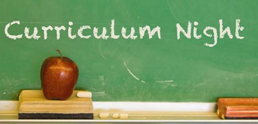 Curriculum Night 9/8/2021 at 6:30pm Featured Photo