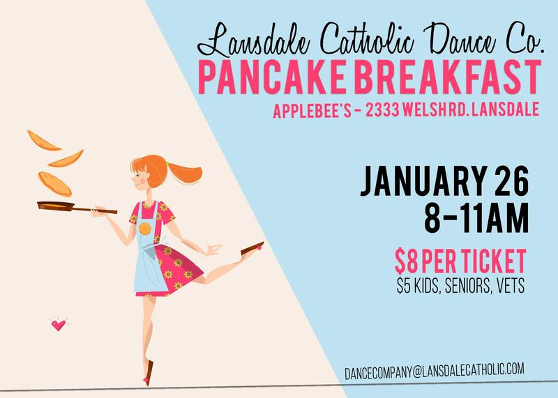 LC Dance Company Pancake Breakfast Fundraiser Featured Photo