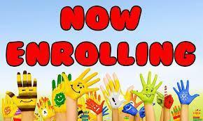 Now Enrolling Image