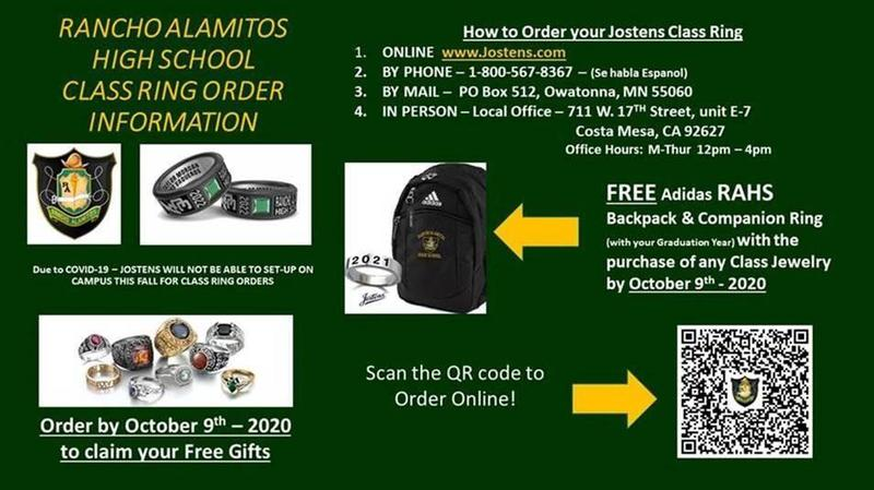 Rancho Alamitos High School Class Ring Order Information Featured Photo