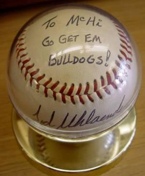 Donated Baseball