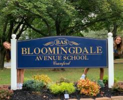 Bloomingdale School Sign