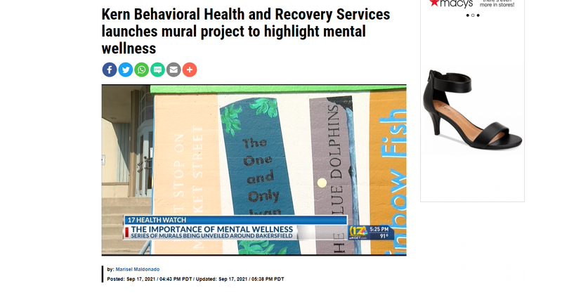 BCSD in the news: Mural Project Highlights Mental Wellness Featured Photo