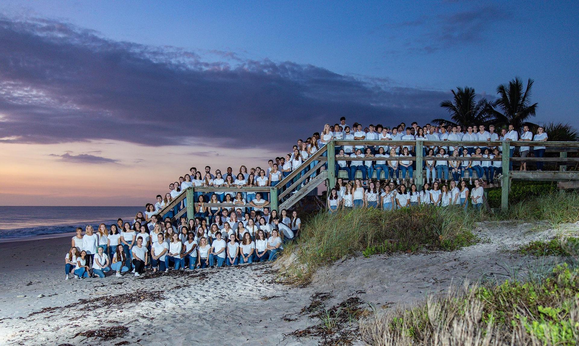 Senior Beach Picture