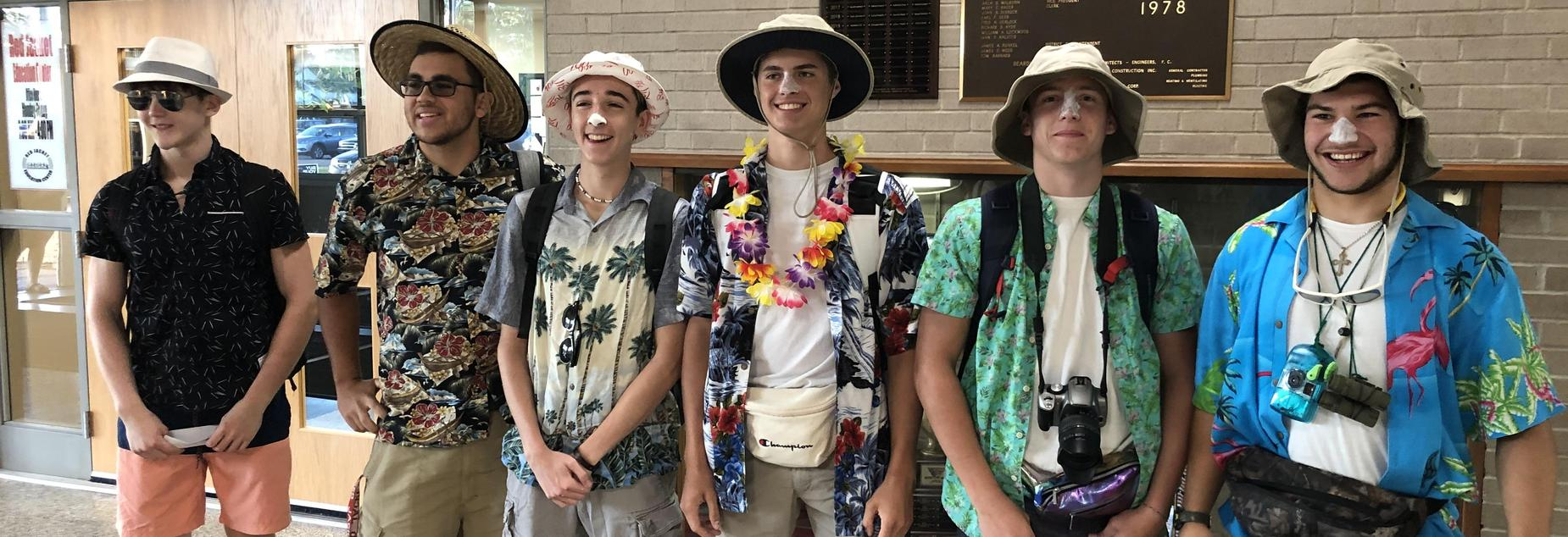 Spirit Week Tourist Day