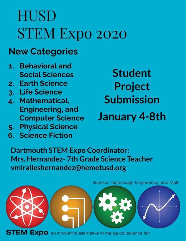 STEM EXPO 2020 Information