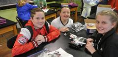Mrs. Benson's Class Working with LEGO Mindstorms EV3