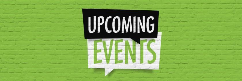 upcoming events