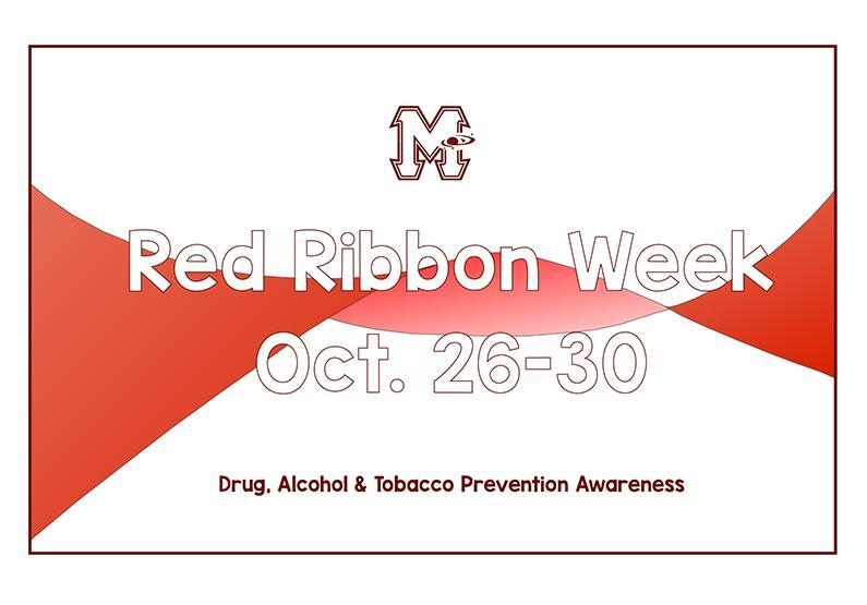 Red Ribbon Week - Oct. 26-30