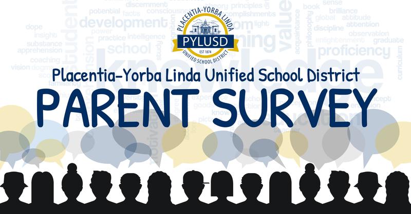 Parent Survey graphic for PYLUSD in 2019.