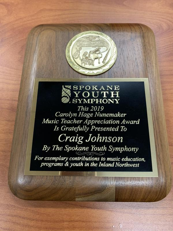 Congratulations Mr. Johnson! Thumbnail Image