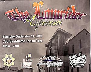 Lowrider experience poster