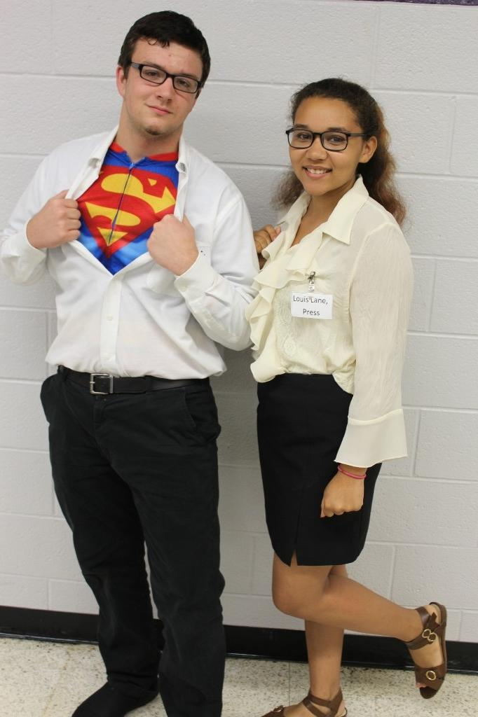 Dynamic Duo: Clark Kent and Lois Lane