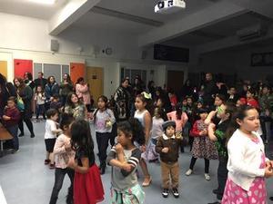 Mattie Lou Maxwell students dancing