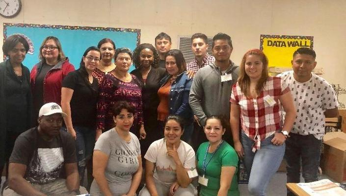 Ms. Andersons ESL Class