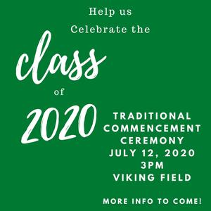 Class of 2020 Traditional Commencement Ceremony