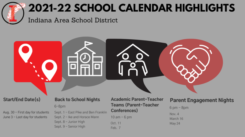 21-22 School Calendar Highlights