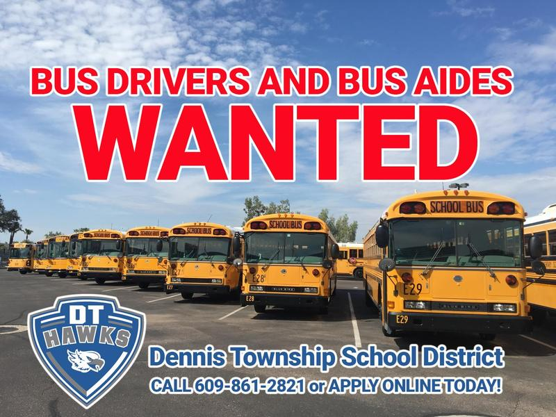 Bus Drivers and Bus Aides WANTED Thumbnail Image