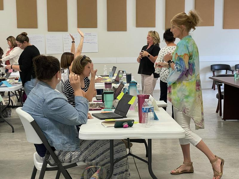 Pickett K8 Teachers Participate in Literacy Foundations Training Featured Photo