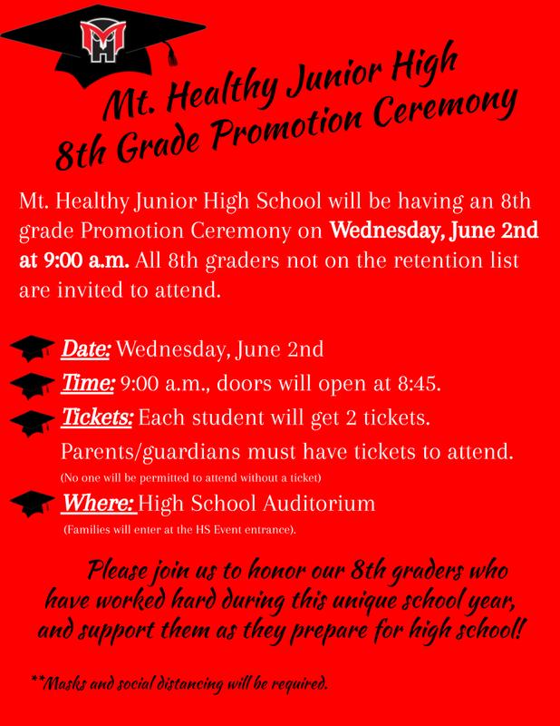 8th grade promotion flyer