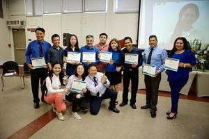 ESL Students and Teacher at 2018 Promotion Ceremony