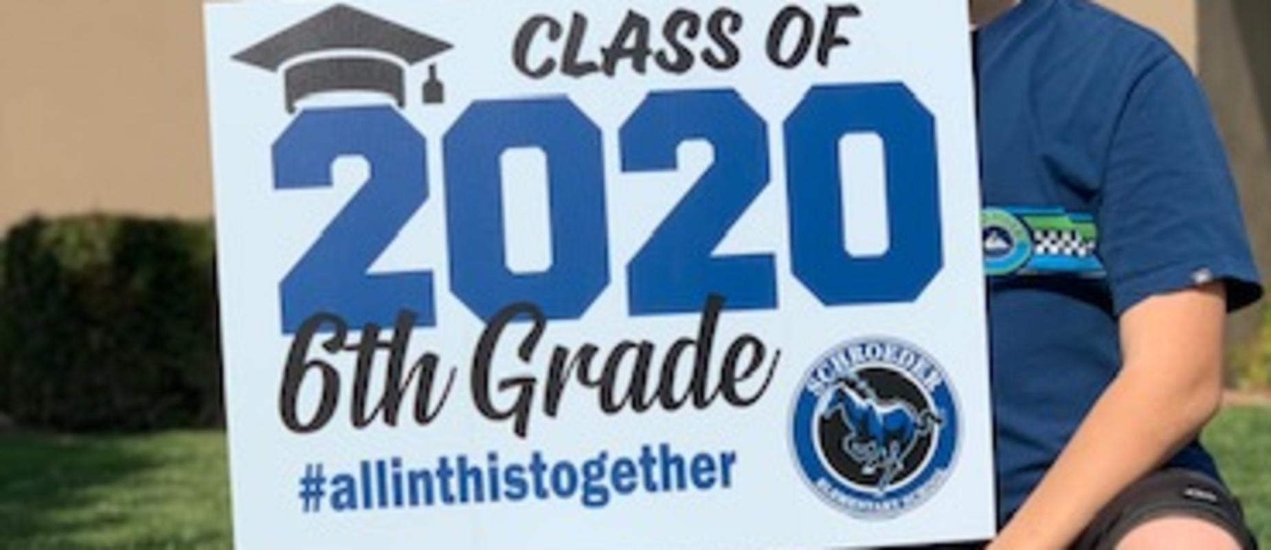 6th grade sign