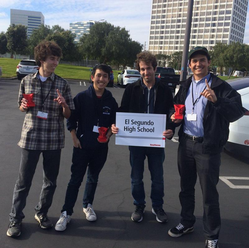 ESHS Students Place First in 2019 Raytheon Engineering Games Featured Photo
