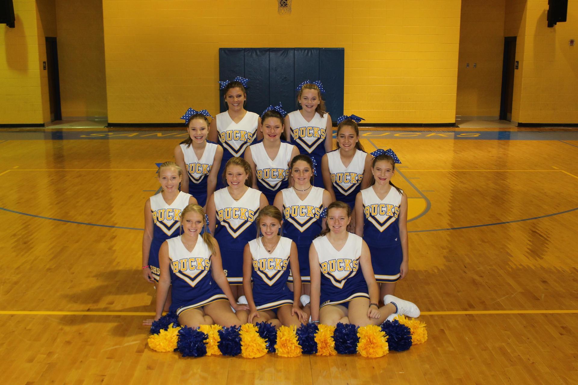 2018 Cheerleaders