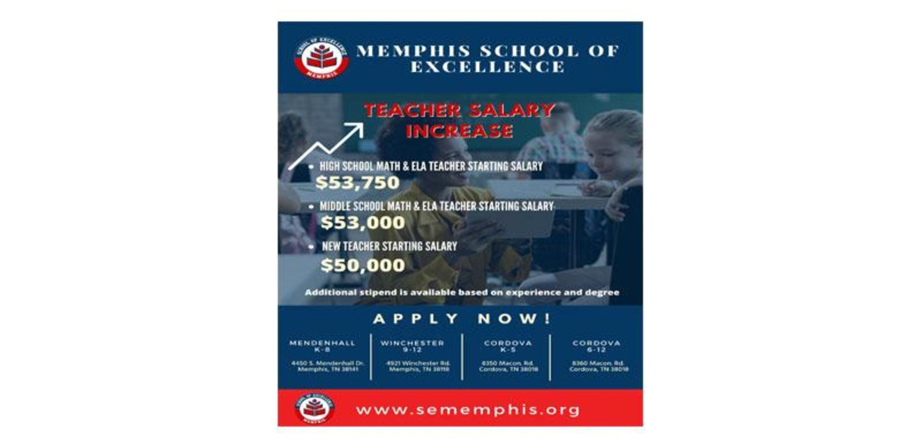 Teacher Salary Increase