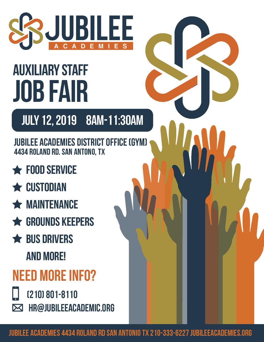 Auxiliary Job Fair
