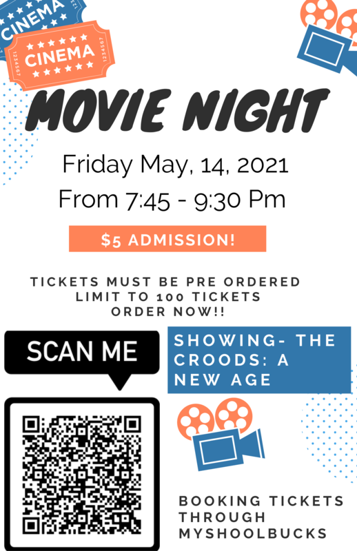 Join us for Elementary School Movie Night for a Showing of