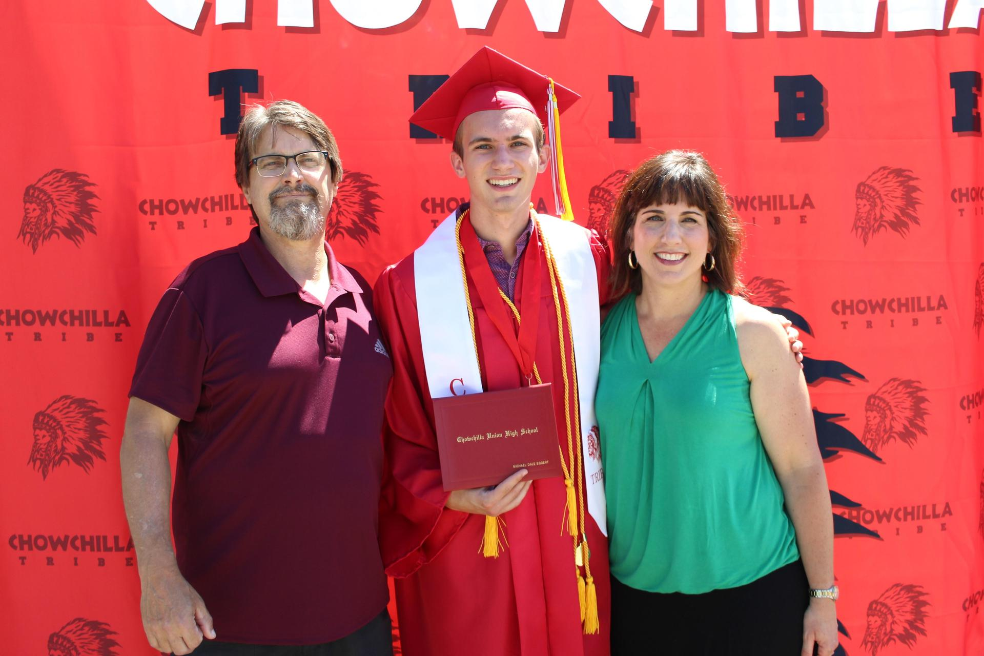 Michael Eggert and family