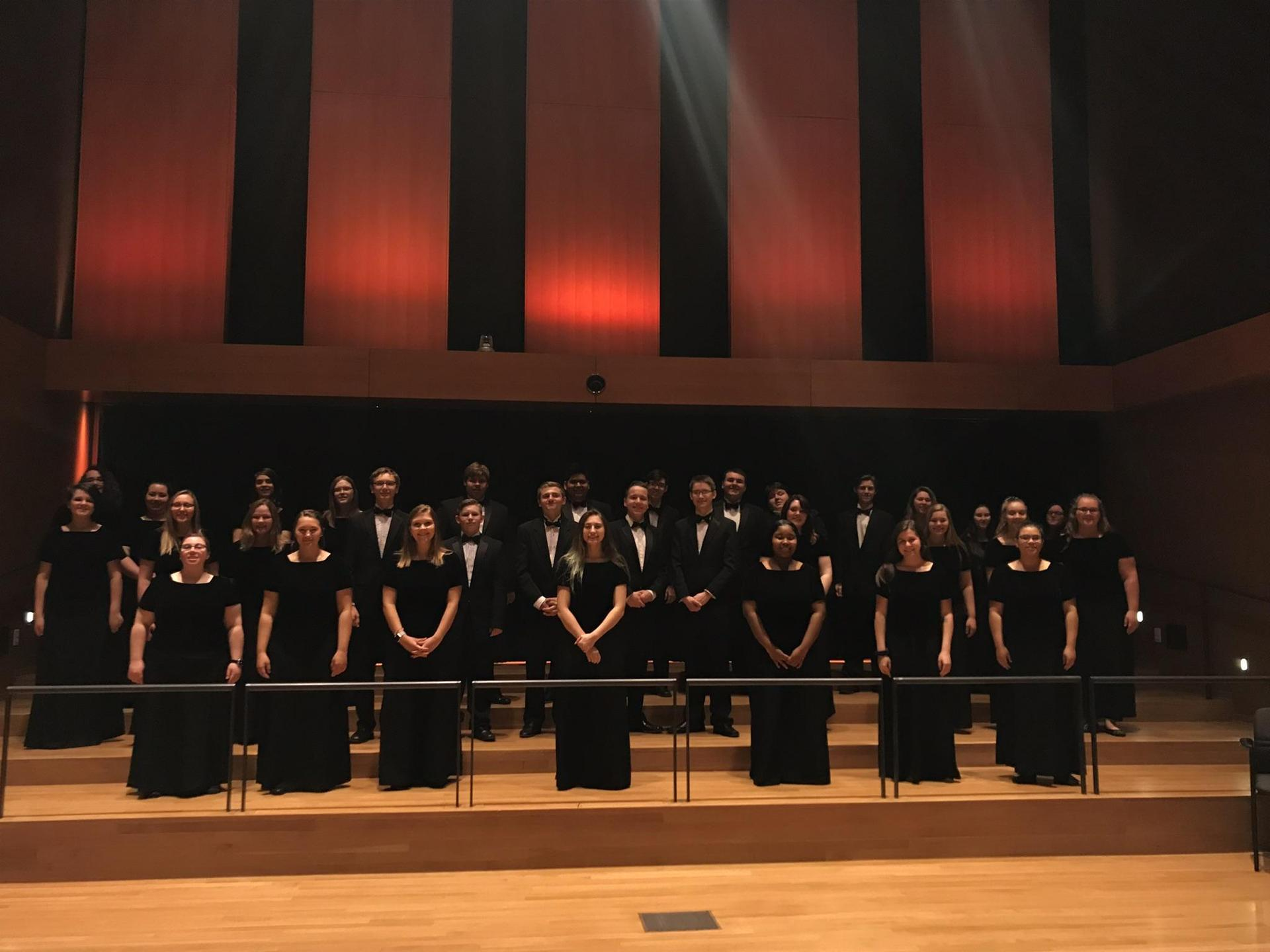 Chamber Singers at State Choral Festival