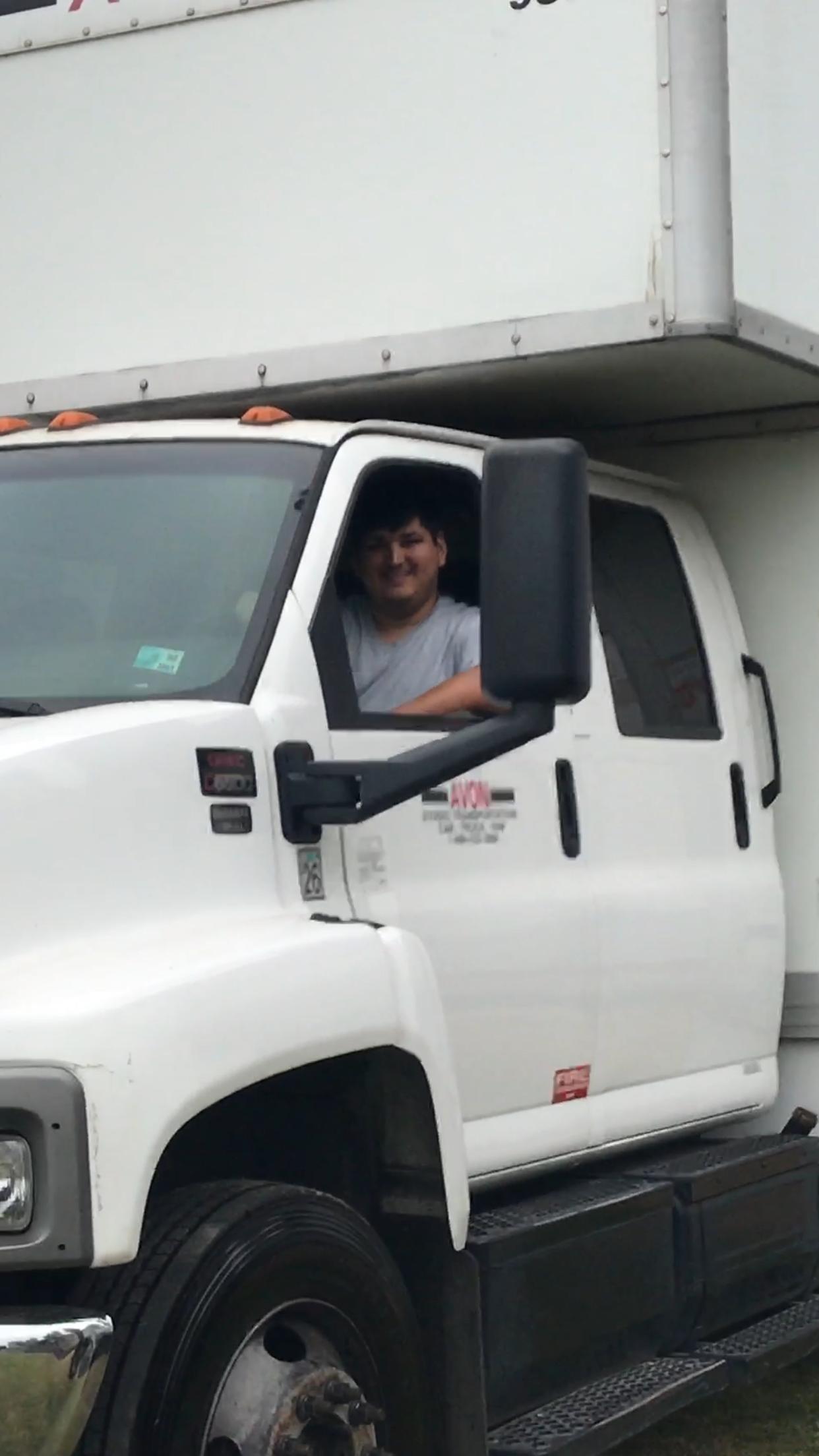 KBEV Driver Daniel Audell