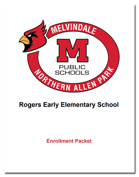 Rogers Early Elementary Enrollment Packet