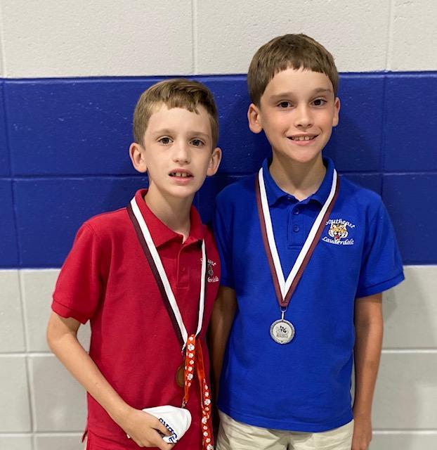 Two of the Regional Science Fair Winners