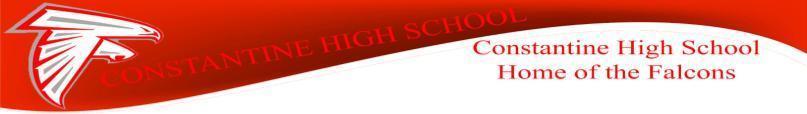 Constantine High School Banner
