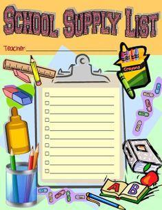 VVJH School Supply List 2020-2021 Thumbnail Image