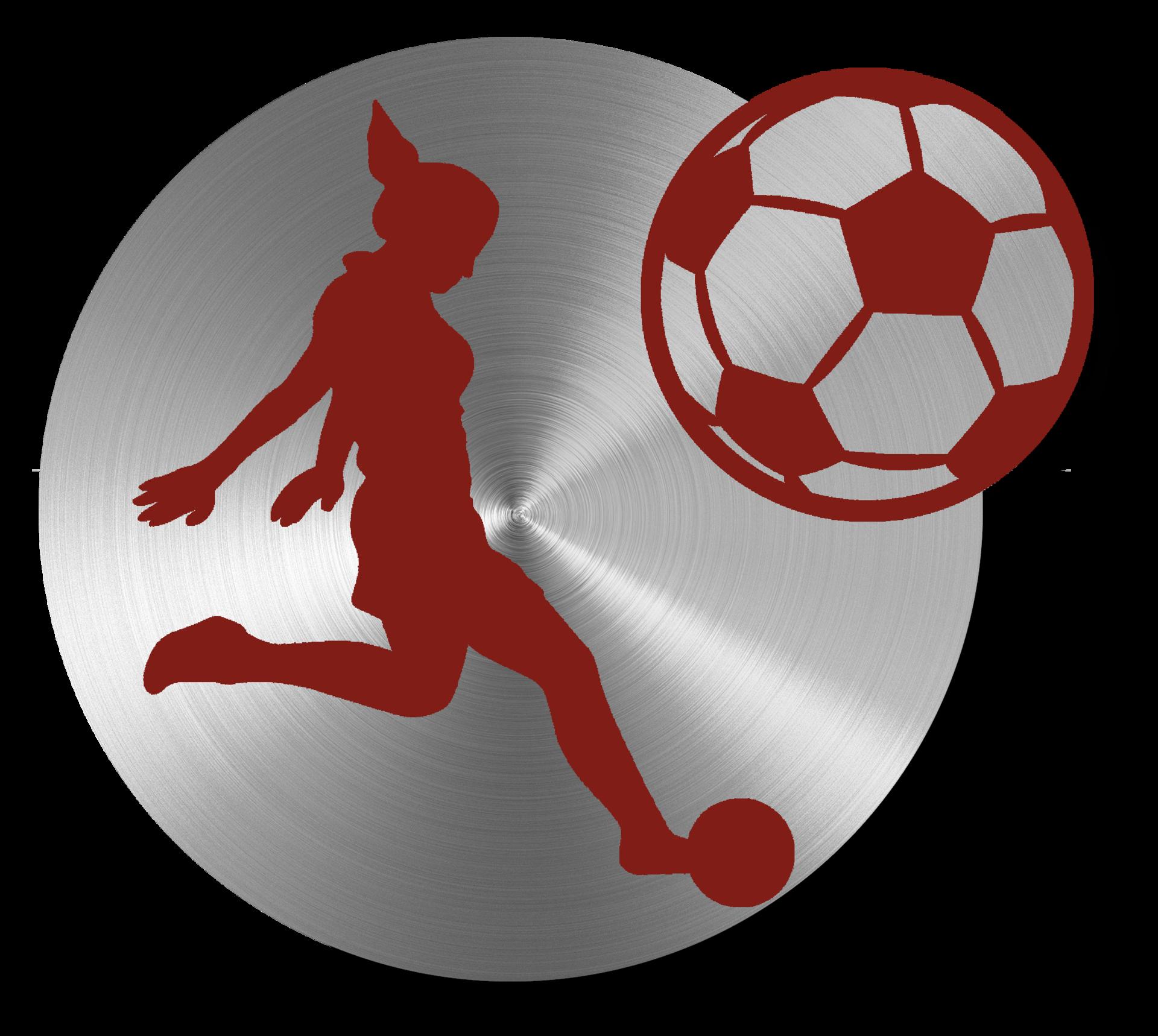 Soccer girls icon
