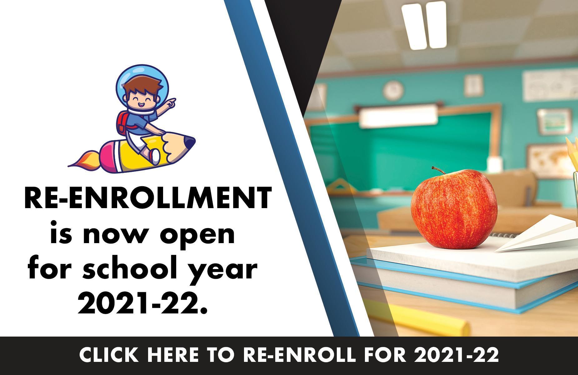 Re enrollment banner