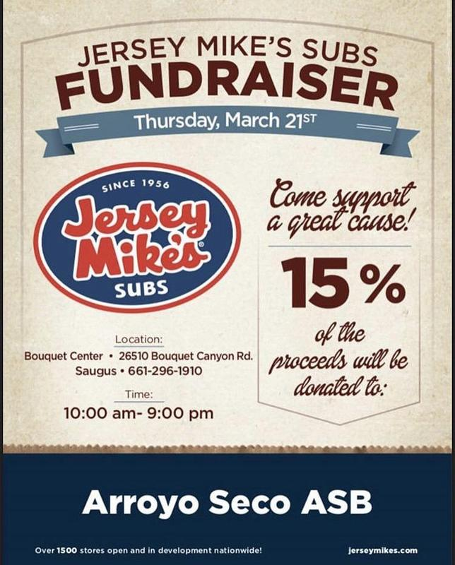 Jersey Mike's Flyer 3.22.19