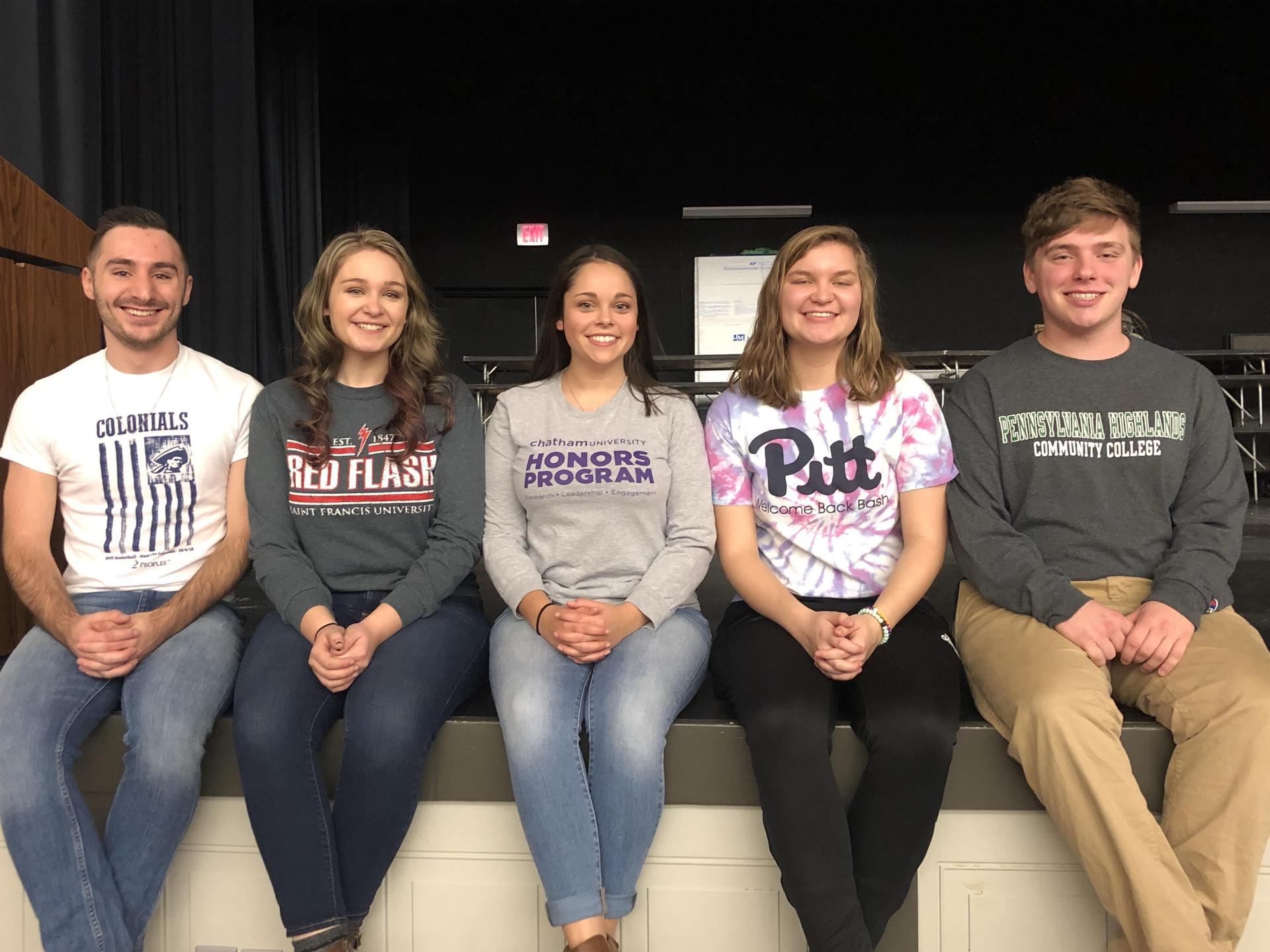 Members of Class of 2018 Return to Discuss College Life!