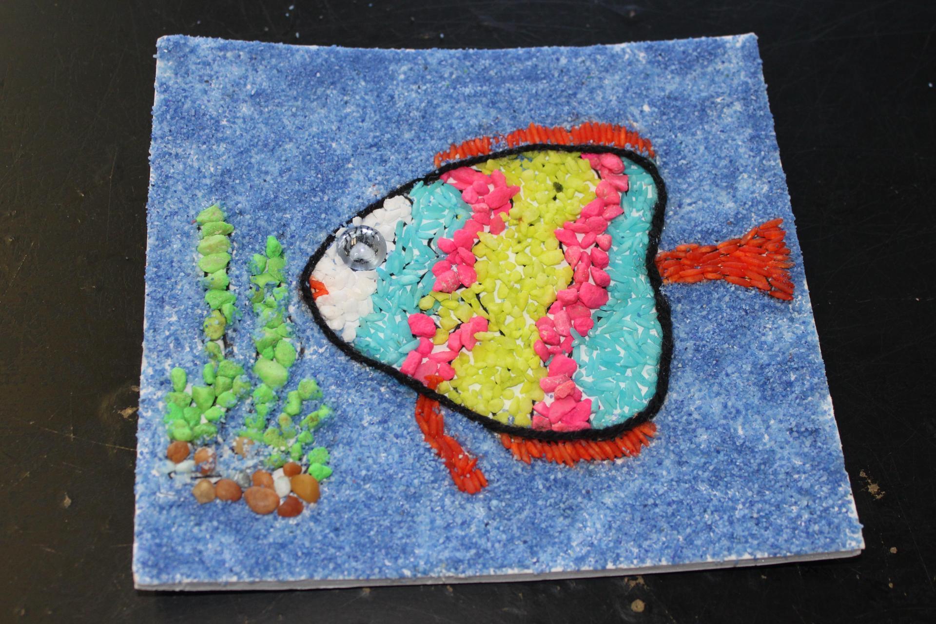 Student mosaic