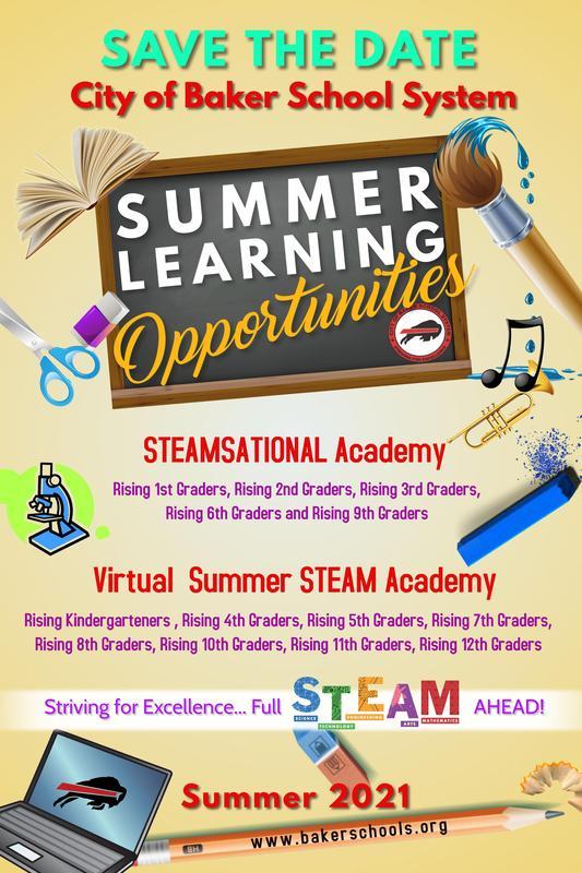 Summer Learning Flyer