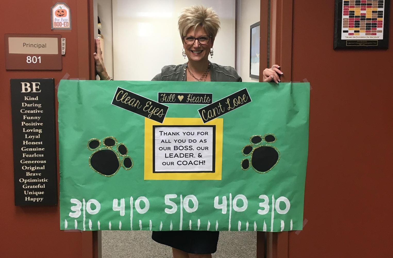 Mrs. Beeuwsaert on Boss' Day