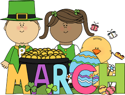 March Clipart image