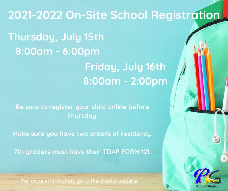 21-22 on-site registration