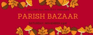 Announce Vendors for Parish Bazaar.png